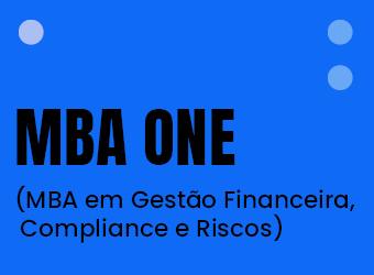 MBA ONE (MBA EM GESTÃO FINANCEIRA, COMPLIANCE E RISCOS)