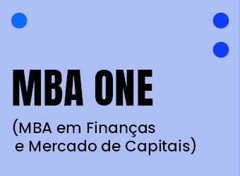 MBA ONE (MBA EM FINANÇAS E MERCADO DE CAPITAIS)